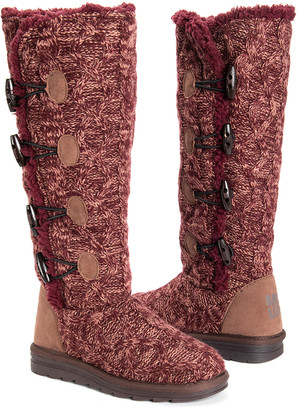 Muk Luks Women's Casual boots Burgundy - Burgundy Felicity Boot - Women