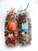 2 Bags /Set of Variety Potpourri - Offers The Rich Scent Combined With a Colorful Blend of Floral and Other Dried Botanicals--Random Flavor !
