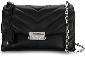 MICHAEL Michael Kors Quilted Logo Shoulder Bag