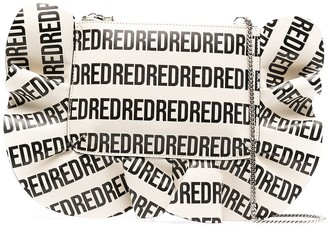 Red(V) Rock Ruffles XS monogram shoulder bag