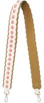 Fendi Strap You spike-embellished leather bag strap