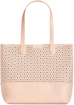 Giani Bernini Perforated Commuter Tote, Created for Macy's