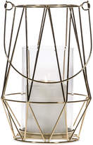 "Home Essentials Asele 9"" Gold-Tone Wire Lantern"