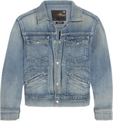 R 13 Shrunken denim jacket