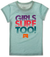 Nike T-Shirt, Girls Action Graphic Surf Tee