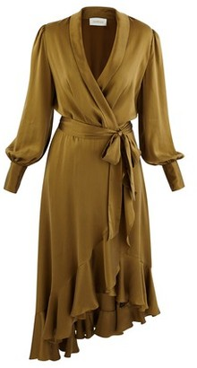Zimmermann Super Eight silk wrap dress