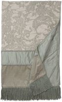 Austin Horn Collection Cascata Throw Blanket in Seamist