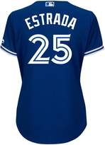 Majestic Ladies' Marco Estrada Toronto Blue Jays Cool Base Replica Away Jersey - L
