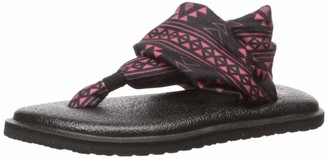 Sanuk Girl's Lil Yoga Sling 2 Prints Sandal