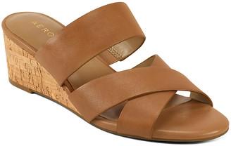 Aerosoles Women's Sandals TAN - Tan Westfield Leather Sandal - Women