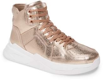 Balmain B Ball Metallic High Top Sneaker