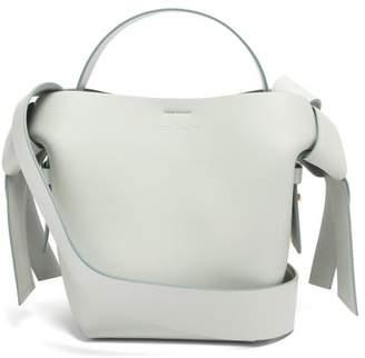 Acne Studios Musubi Mini Leather Tote Bag - Womens - Light Blue