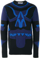 Givenchy totem knitted jumper
