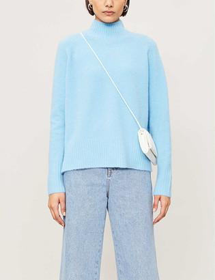Whistles Funnel-neck knitted jumper