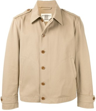Kent & Curwen Relaxed-Fit Zipped Shirt Jacket