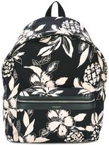 Saint Laurent 'City' backpack - men - Polyamide - One Size
