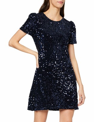 Yumi Women's Sequin Shift Dress Cocktail