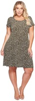 MICHAEL Michael Kors Plus Size Finley Mamba Cap Dress Women's Dress