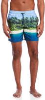 Sundek Beach Print Board Shorts