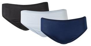 Gildan Gilden Women's Tag Free Microfiber Hi-Cut Panties, 3-Pack