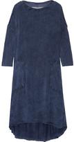 Raquel Allegra Tie-dyed Jersey Dress - Storm blue