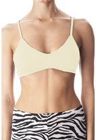 Anémone Women's Seamless V-neck Padded Bra w/ Adjustable Straps