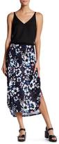 Joe Fresh Floral Midi Skirt