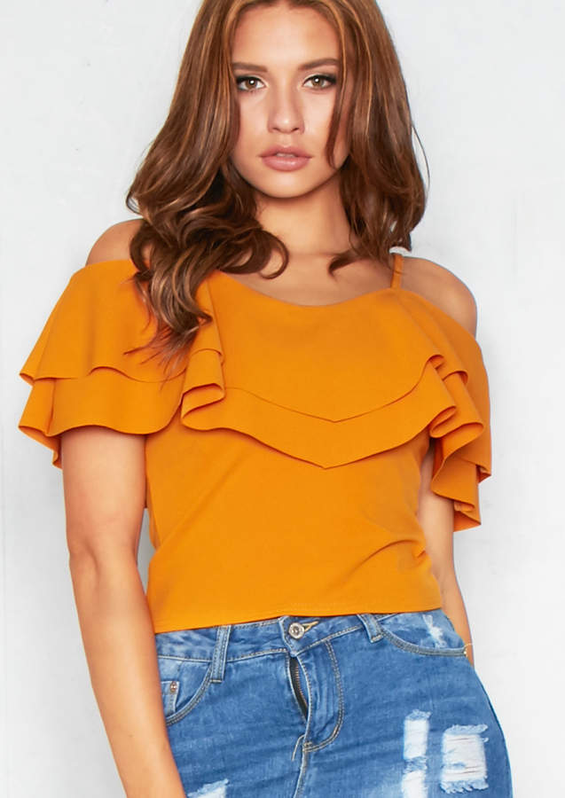 6dbd75ed6c3 Missy Empire Yellow Tops For Women - ShopStyle UK