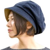 Casualbox Womens Sun Hat Organic Cotton Reversible Japanese Design