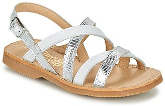 Citrouille et Compagnie GENTOU girls's Sandals in White