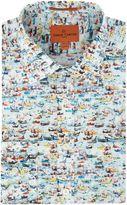Simon Carter Boat Print Jagger Shirt