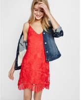 Express Lace Trapeze Dress