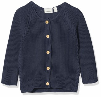 Name It Baby Girls' Nbftimille Ls Knit Card Cardigan Sweater