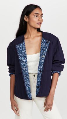 Apiece Apart Elodie Quilted Jacket