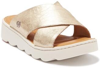 Børn Awuna Light Gold Slip-On Sandal