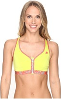 Shock Absorber Active Zipped Plunge Sports Bra S00BW Women's Bra