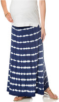 Design History Maternity Tie-Dyed Maxi Skirt