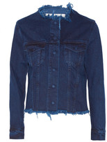Marques Almeida Marques' Almeida - Frayed Denim Jacket - Indigo