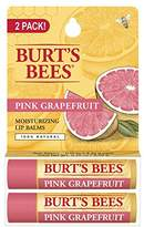 Burt's Bees 100% Natural Moisturizing Lip Balm,2 Tubes in Blister Box