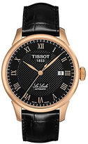 Tissot Mens Le Locle Automatic Watch with Leather Strap