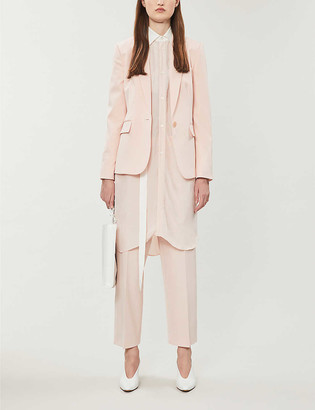 Stella McCartney Single-breasted stretch-wool blazer