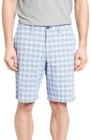 Tommy Bahama Men's Check Shot Flat Front Shorts