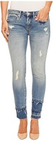 Blank NYC Crop Skinny with Novelty Fray Hem in One Take Wonder Women's Jeans