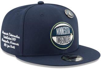 New Era Minnesota Timberwolves On-Court Collection 9FIFTY Cap