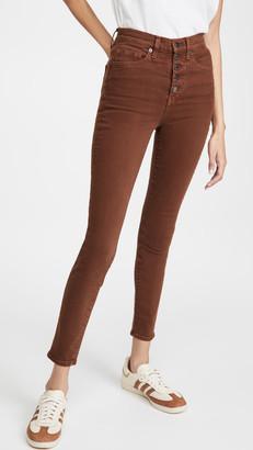 Veronica Beard Jeans Maera Extra High Rise Skinny Jeans