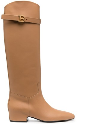Balmain Royce knee-high boots