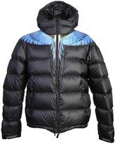 Marcelo Burlon County of Milan Printed Padded Nylon Jacket