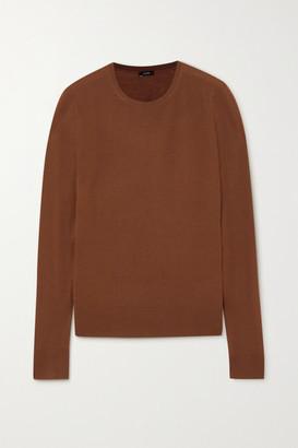 Joseph Merino Wool Sweater - Brick