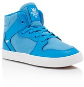 Supra Boys' Vaider High Top Sneakers - Walker, Toddler