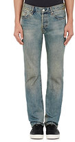 Earnest Sewn Men's Allen Straight Jeans-BLUE